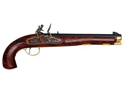 Pistolet KENTUCKY A SILEX PEDERSOLI CALIBRE 54 (S.310)