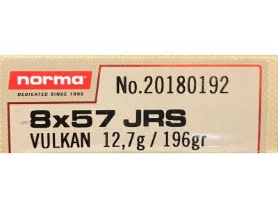 8x57 JRS VULKAN NORMA 12.7G/196GR (boîte de 20)