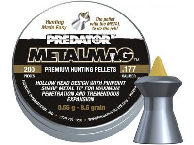 PLOMBS PREDATOR METALMAG - 4,5mm