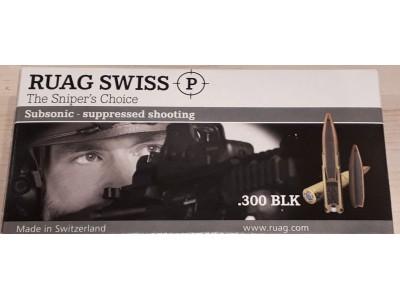 .300 BLK SWISS P TARGET Subso (boîte de 20)