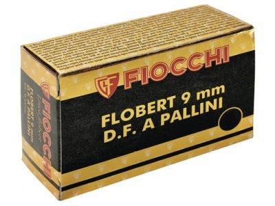 9mm FLOBERT PLOMBS FIOCCHI  (boîte de 50)