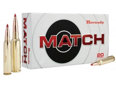 HORNADY ELD MATCH .308 win 10.9g / 168 gr (boîte de 20)