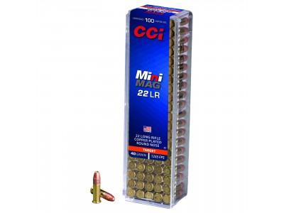 22LR CCI MINI MAG CPRN (boîte de 100)