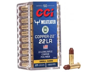22LR CCI COPPER CHP LEAD FREE (boîte de 50)