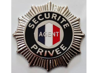 Médaille agent de sécurité privé GK Pro 603S