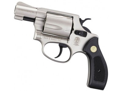 Revolver SMITH-WESSON Chiefs Spécial Nickelé cal.9mm R UMAREX