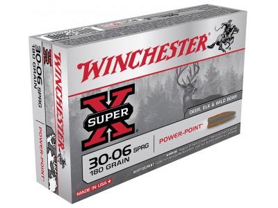 30-06 WINCHESTER POWER POINT 180GR (boîte de 20)