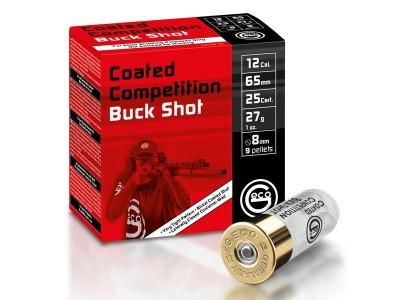 GECO COMPETITION CC BUCK SHOT 27g 12/65