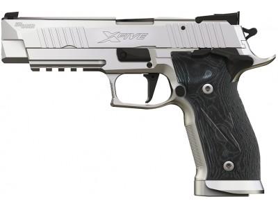 PIST. SIG SAUER P226 X-FIVE SUPER MATCH STAINLESS CAL. 9 MM PARA