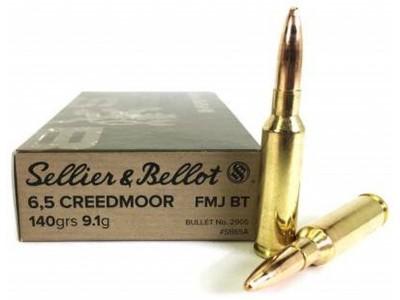 Sellier & Bellot 6.5 Creedmoor FMJBT 140gr (boîte de 20)