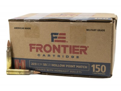 223 REM FRONTIER HORNADY x150 (boîte de 150)