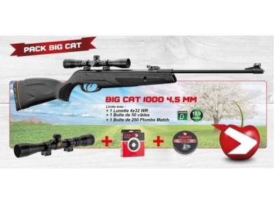 Carabine GAMO BIG CAT 1000 4.5j 19.9joules PACK