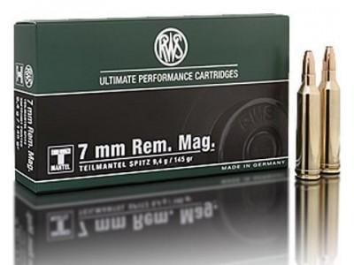 7mm REM MAG RWS T MANTEL (boîte de 20)