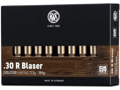 30R BLASER RWS EVO (boîte de 20)