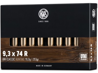 9,3x74r RWS UNI CLASSIC (boîte de 20)