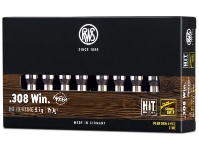 308 WIN RWS HIT SHORT RIFLE (boîte de 20)