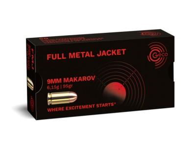 9mm MAKAROV FMJ GECO (boîte de 50)