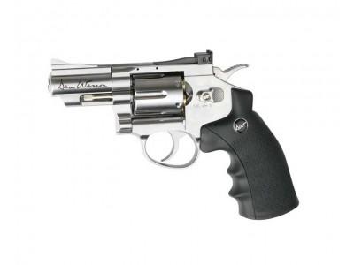 Revolver ASG Dan Wesson chromé 2.5 pouces - billes acier 4.5 mm