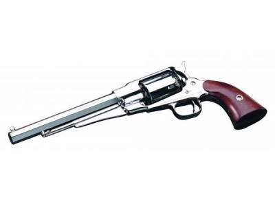 Revolver à Poudre Noire Pietta REMINGTON 1858 TEXAS Laiton Nickelé cal.44