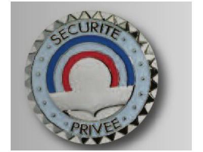 Médaille sécurité (diamètre 40mm)