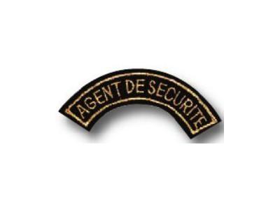 Ecusson agent de sécurité - 053120009