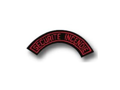 Ecusson sécurité incendie - 05360006