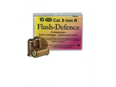 Munitions alarmes Cal. 9 mm R Flash Défense