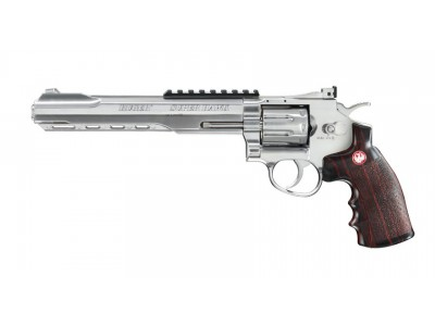 RUGER SUPER HAWK 8 POUCES CHROME CO2 4J CAL.6MM