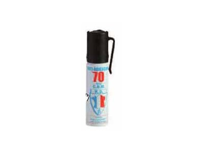 AEROSOL DE DEFENSE A GAZ CS 25ml