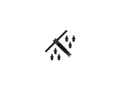 Clé démonte cheminée PIETTA + 6 cheminées noires