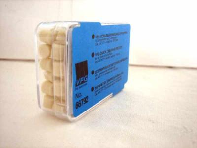 tampons de nettoyage  VFG, calibre 4.5mm