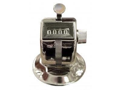 Compteur d'impulsion manuel - Boîtier métal avec socle / support metal
