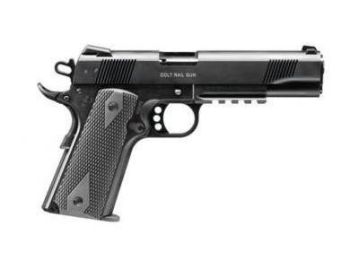 PISTOLET WALTHER COLT 1911 RAIL GUN 22 LR