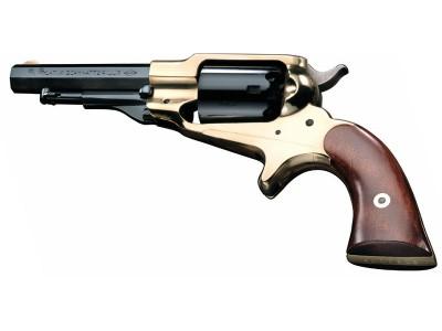 Revolver 1863 Remington Pocket Laiton (poudre noire)