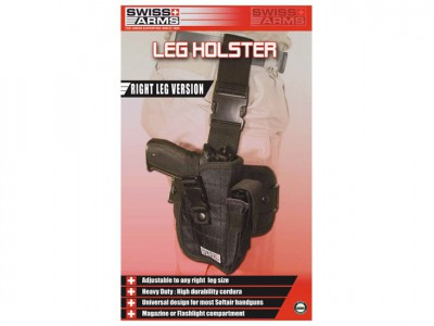 Holster de cuisse droite Swiss arms