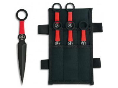 Set de 6 couteaux à lancer - 31850