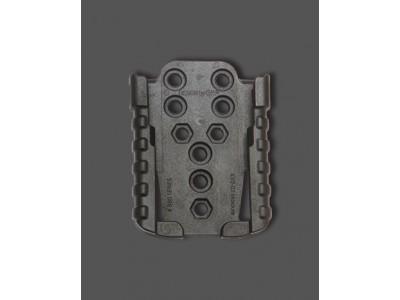 MODULE SUPPORT FEMELLE 880KX2-02 POUR SERIE 870 ET 880