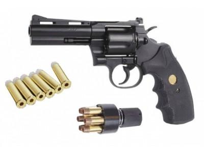 SWISS ARMS 357 REVOLVER 4 POUCES A BILLES ACIER