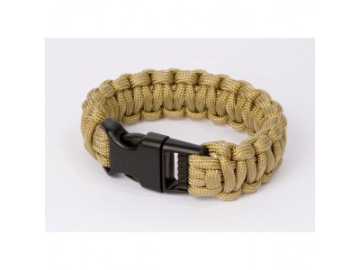 Bracelet paracorde TAN