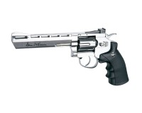 REVOLVER ASG DAN WESSON 6 POUCES CHROME CALIBRE 4.5 MM