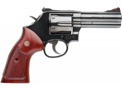 REVOLVER SMITH & WESSON 586 BRONZE 4""