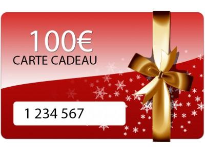 Carte cadeau de 100 euros