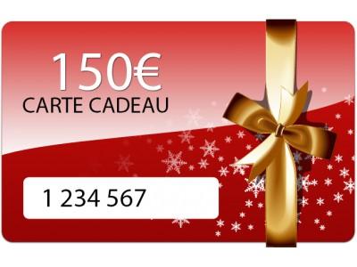 Carte  cadeau de 150 euros