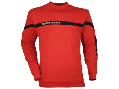 SWEAT SHIRT SECURITE INCENDIE CITYGUARD