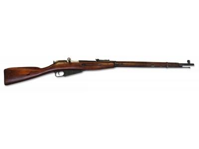 Fusil Mosin Nagant Calibre 7,62x54R Boîtier ROND