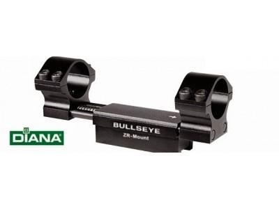 Montage monobloc Diana BULLSEYE avec amortisseur Rail 11mm