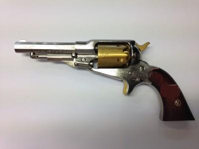 Revolver poudre noire Pietta remington pocket luxe gravé cal 31