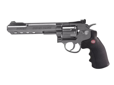 RUGER SUPER HAWK 6 POUCES CHROME CO2 3J CAL.6MM