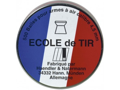Plombs HN (Ecole de tir) Match 4,5mm