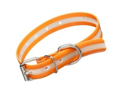 COLLIER LUMINEUX LUMMI ORANGE 55cm